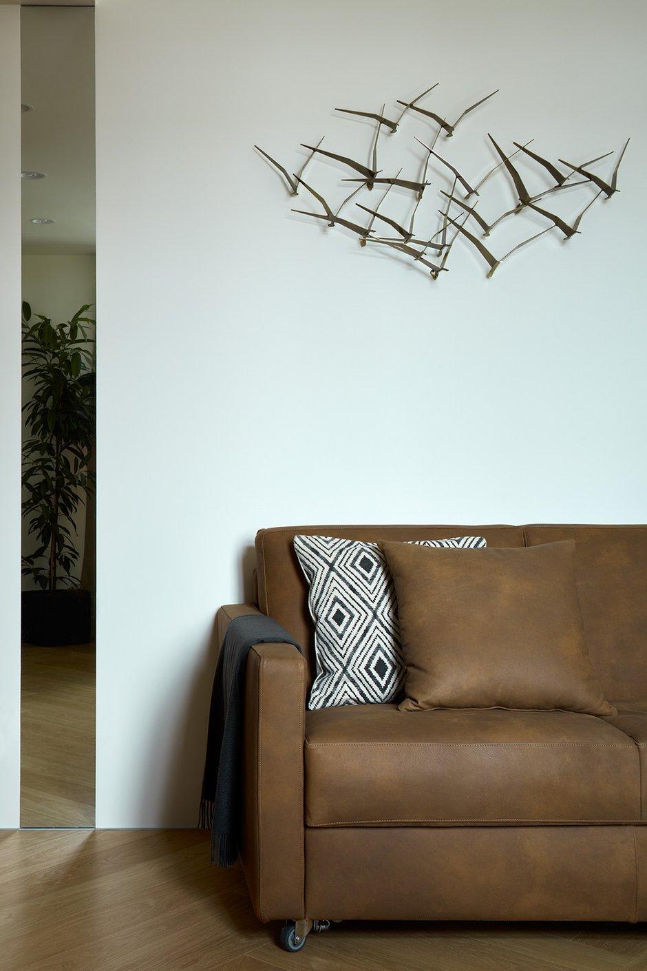 Фотография: Кабинет в стиле Современный, Квартира, Проект недели, Москва, Шамсудин Керимов, Кирпичный дом, 4 и больше, Более 90 метров – фото на INMYROOM