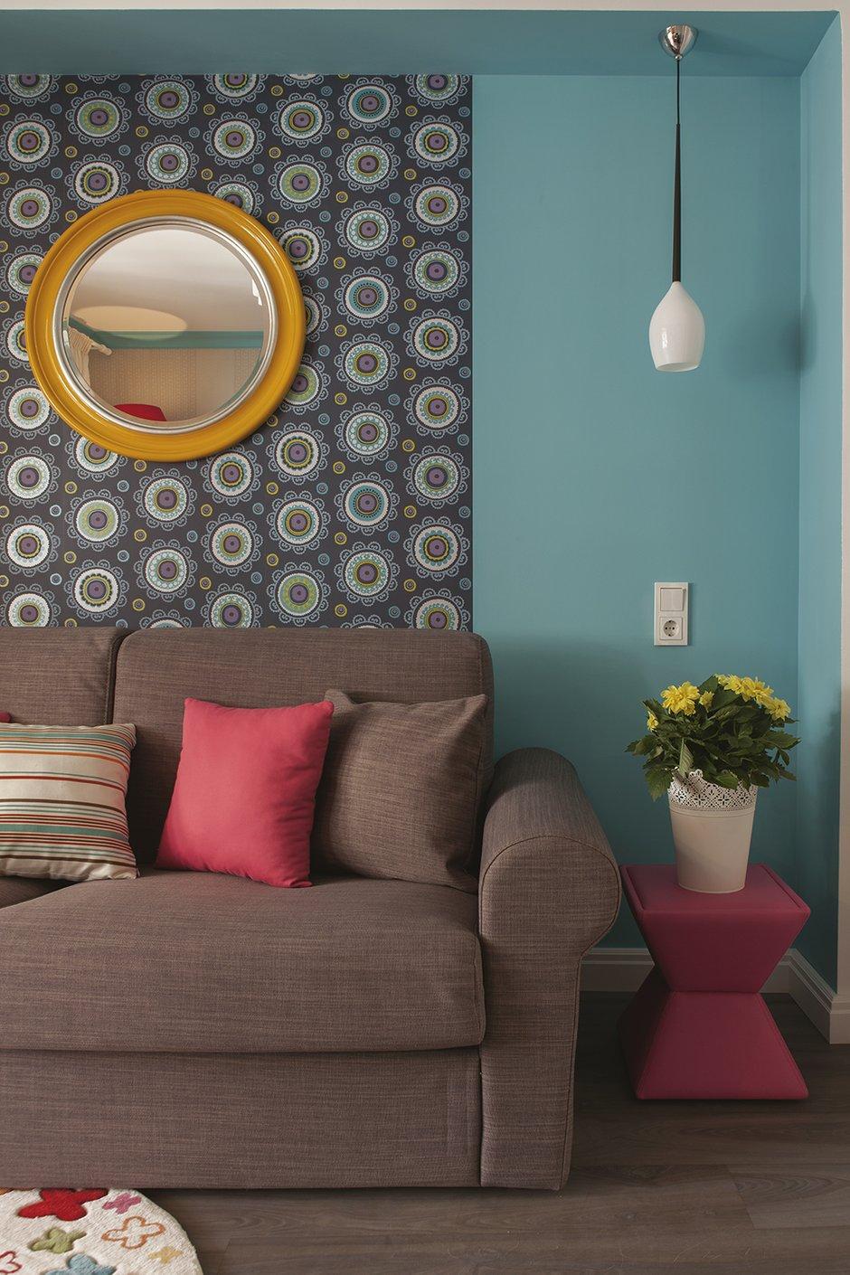 Фотография: Гостиная в стиле Современный, Эклектика, Квартира, Дома и квартиры, И-155 – фото на INMYROOM