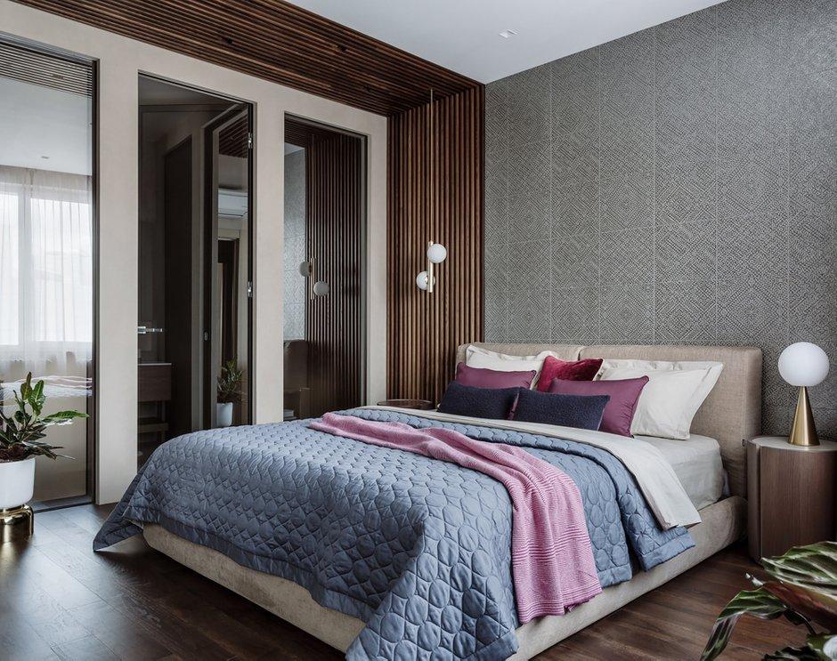 Фотография: Спальня в стиле Современный, Квартира, Проект недели, Москва, 4 и больше, Более 90 метров, Нина Шуберт – фото на INMYROOM