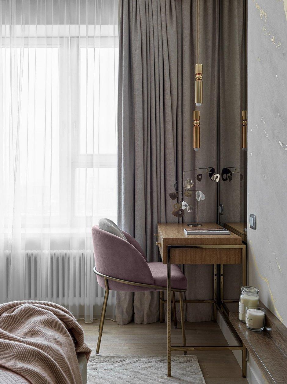 Фотография: Спальня в стиле Современный, Квартира, Проект недели, Москва, Мария Рублева, 4 и больше, Более 90 метров, #эксклюзивныепроекты – фото на INMYROOM