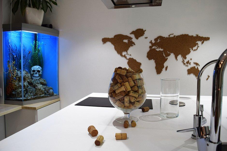 Фотография: Декор в стиле Современный, Эклектика, Квартира, Проект недели, Москва, Наталия Ливенцова, 2 комнаты, 40-60 метров, Монолитно-кирпичный – фото на INMYROOM