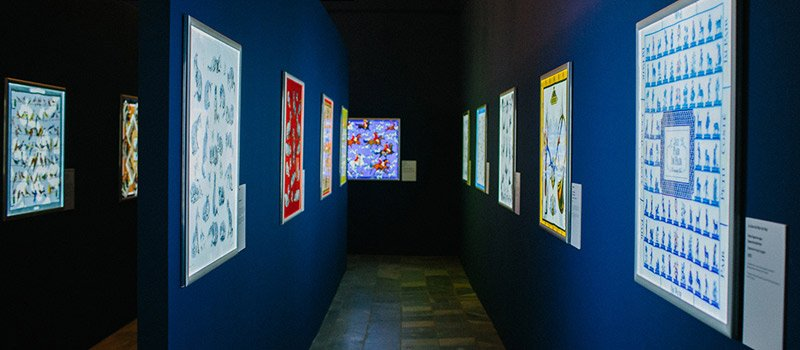 Выставка Александра и Екатерины Цыбиных «Шелковый лабиринт», Всероссийский музей декоративно-прикладного и народного искусства