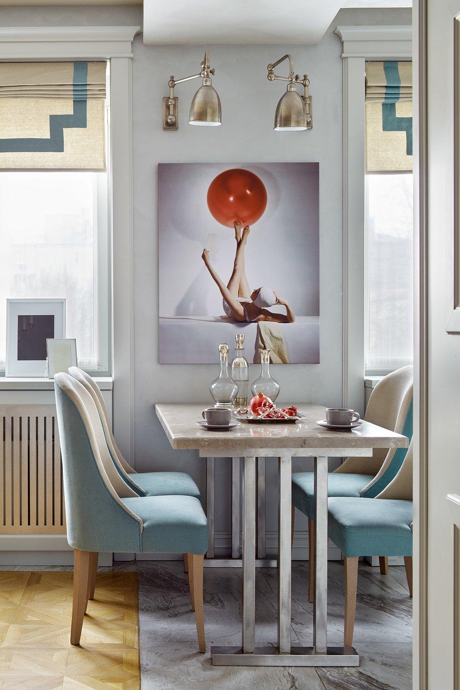 Фотография: Кухня и столовая в стиле Современный, Классический, Квартира, Проект недели, Москва, 3 комнаты, 60-90 метров, Варвара Шабельникова – фото на INMYROOM