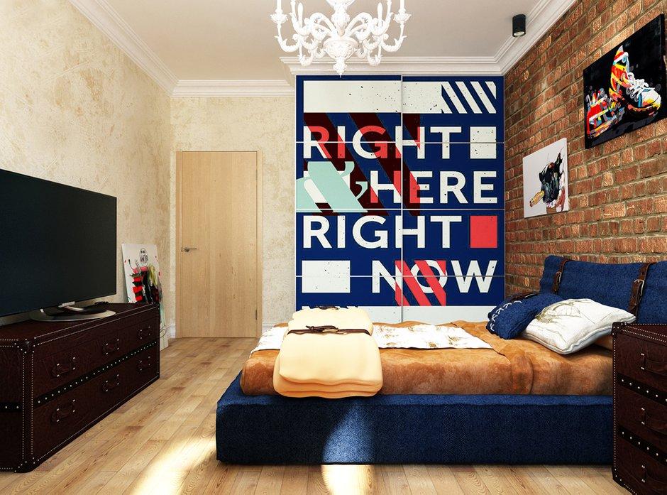 Фотография: Спальня в стиле Лофт, Квартира, Проект недели, Эко – фото на INMYROOM