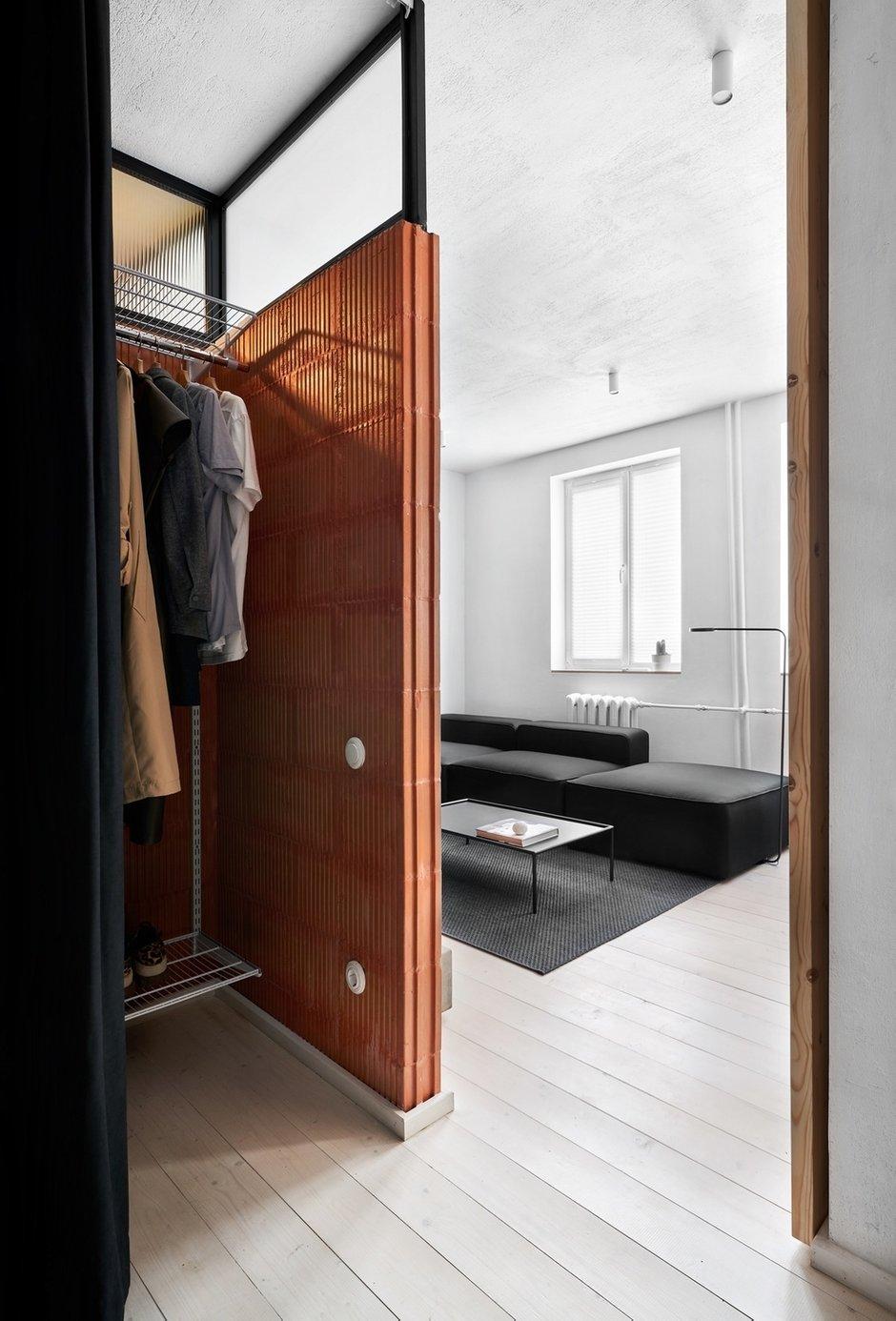 Фотография: Прихожая в стиле Минимализм, Лофт, Малогабаритная квартира, Квартира, Студия, Проект недели, Калининград, до 40 метров, Line Design Studio – фото на INMYROOM
