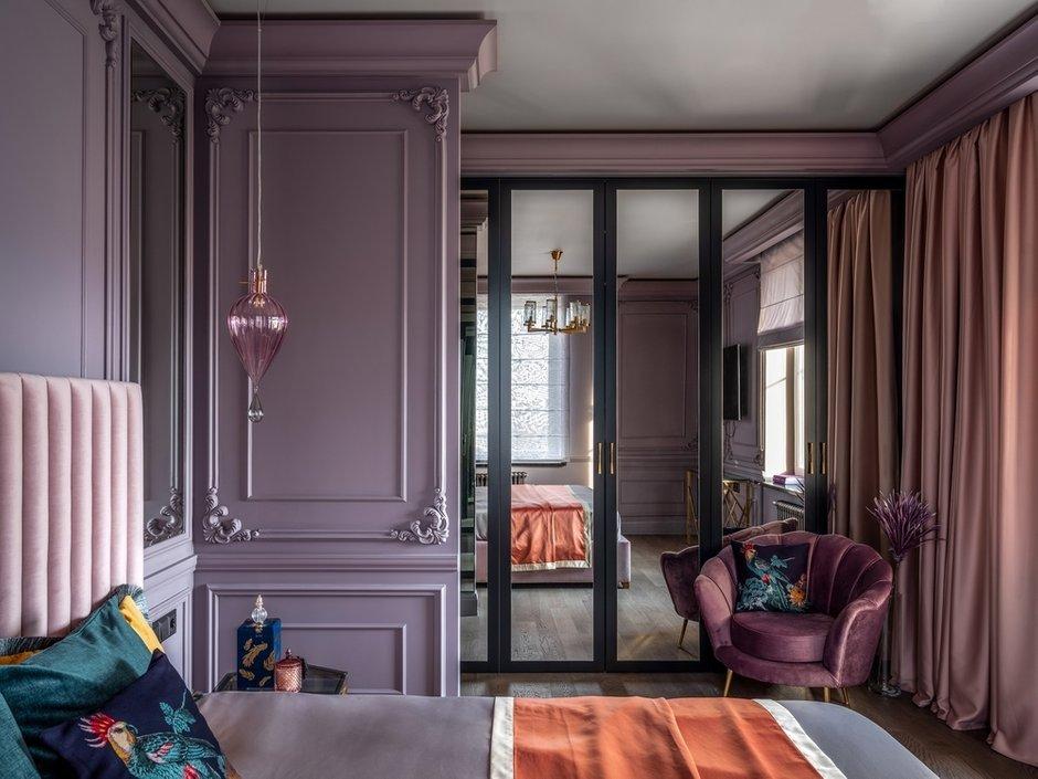Фотография: Спальня в стиле Классический, Современный, Эклектика, Квартира, Проект недели, Москва, 4 и больше, Более 90 метров, Серж Махов – фото на INMYROOM
