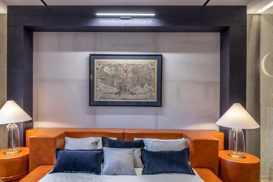 Фотография: Спальня в стиле Современный, Лофт, Квартира, Советы, Отделка стен, Loggia, покраска стен, декоративная отделка стен – фото на INMYROOM