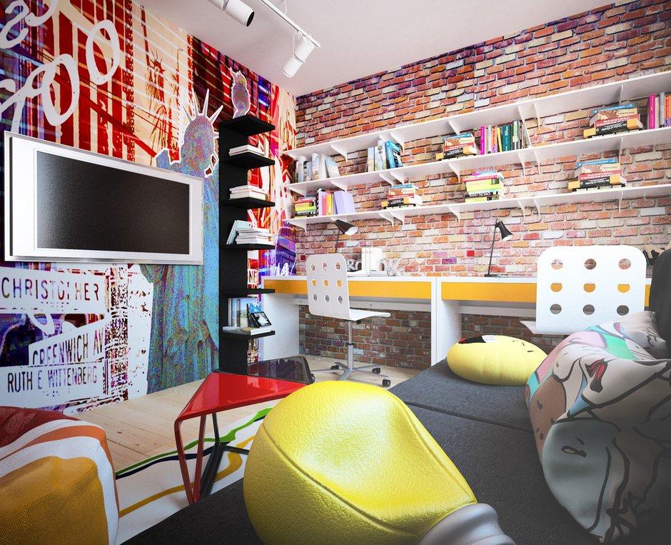 Фотография: Детская в стиле Лофт, Квартира, Дом, Дома и квартиры, Проект недели – фото на InMyRoom.ru