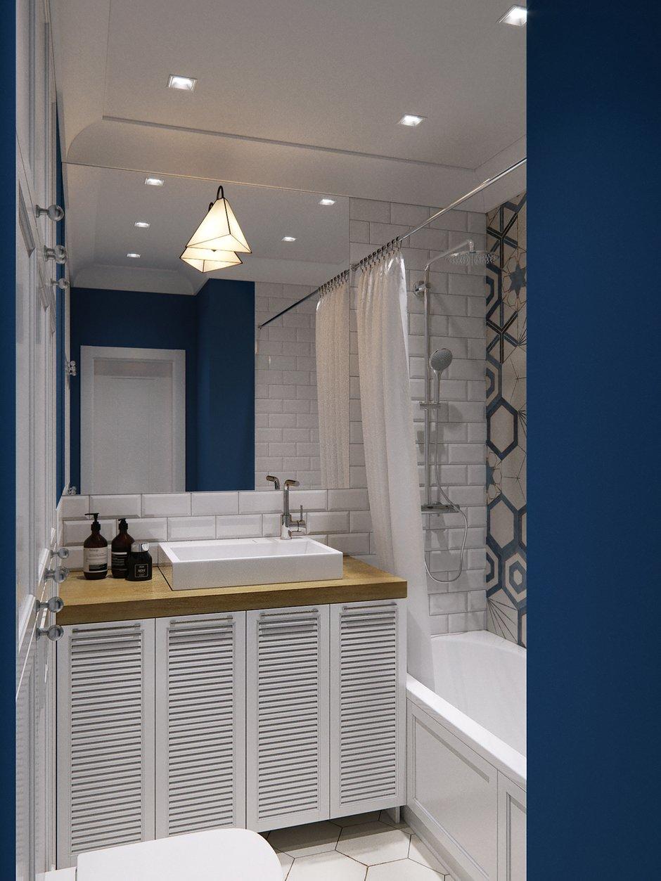 Фотография: Ванная в стиле Современный, Квартира, Проект недели, Санкт-Петербург, Никита Зуб, Монолитный дом, ЖК «Московские ворота» – фото на INMYROOM