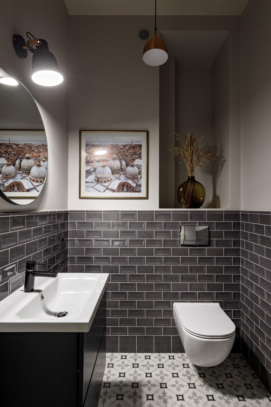 Фотография: Ванная в стиле Классический, Современный, Квартира, Проект недели, Санкт-Петербург, 3 комнаты, Более 90 метров, Наталья Орешкова – фото на INMYROOM