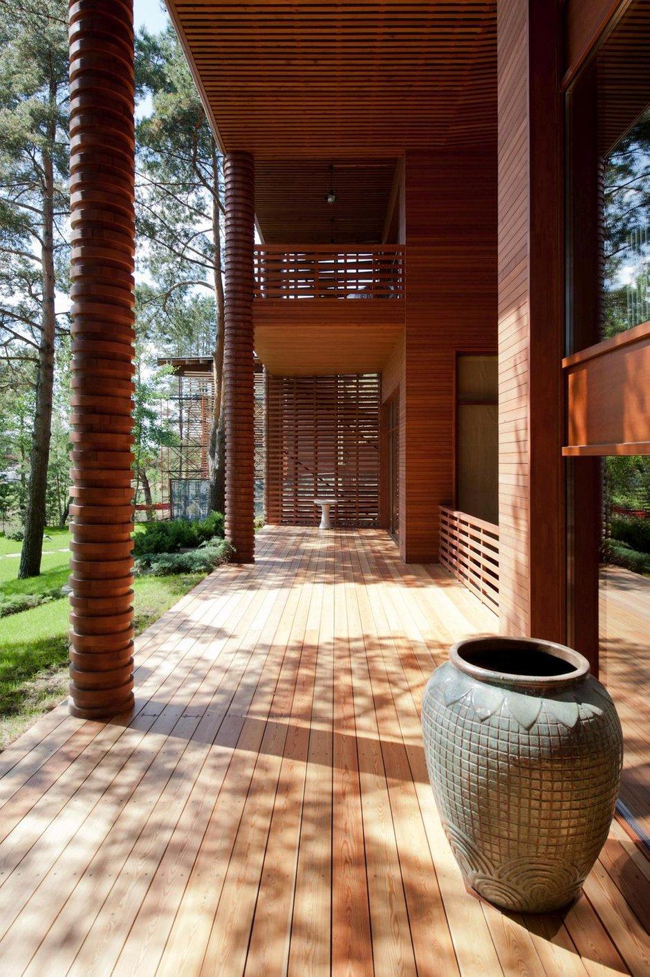 Фотография: Балкон, Терраса в стиле Восточный, Дом, Дома и квартиры, Проект недели – фото на INMYROOM