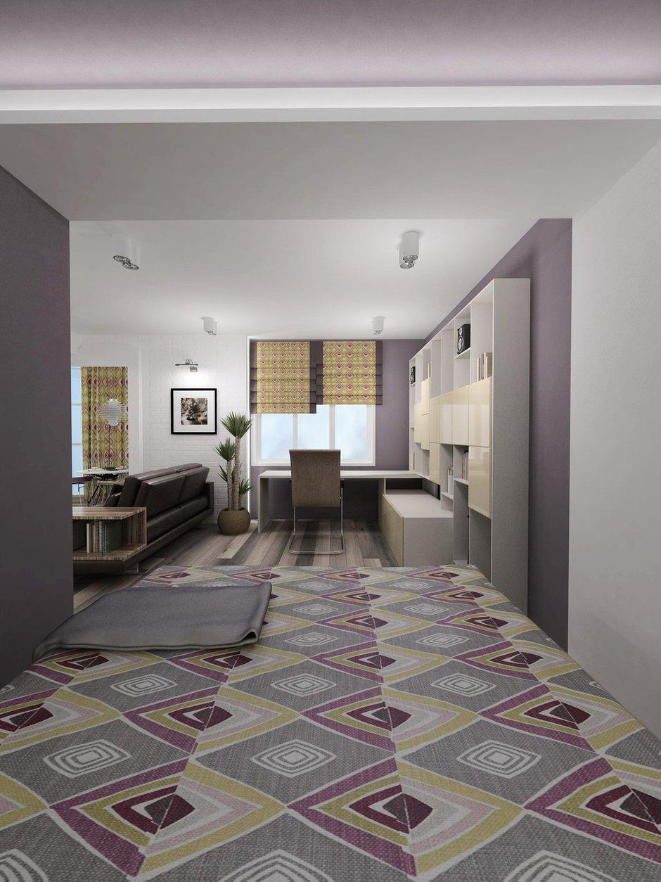 Фотография: Офис в стиле Современный, Хай-тек, Квартира, Дома и квартиры, Проект недели – фото на INMYROOM