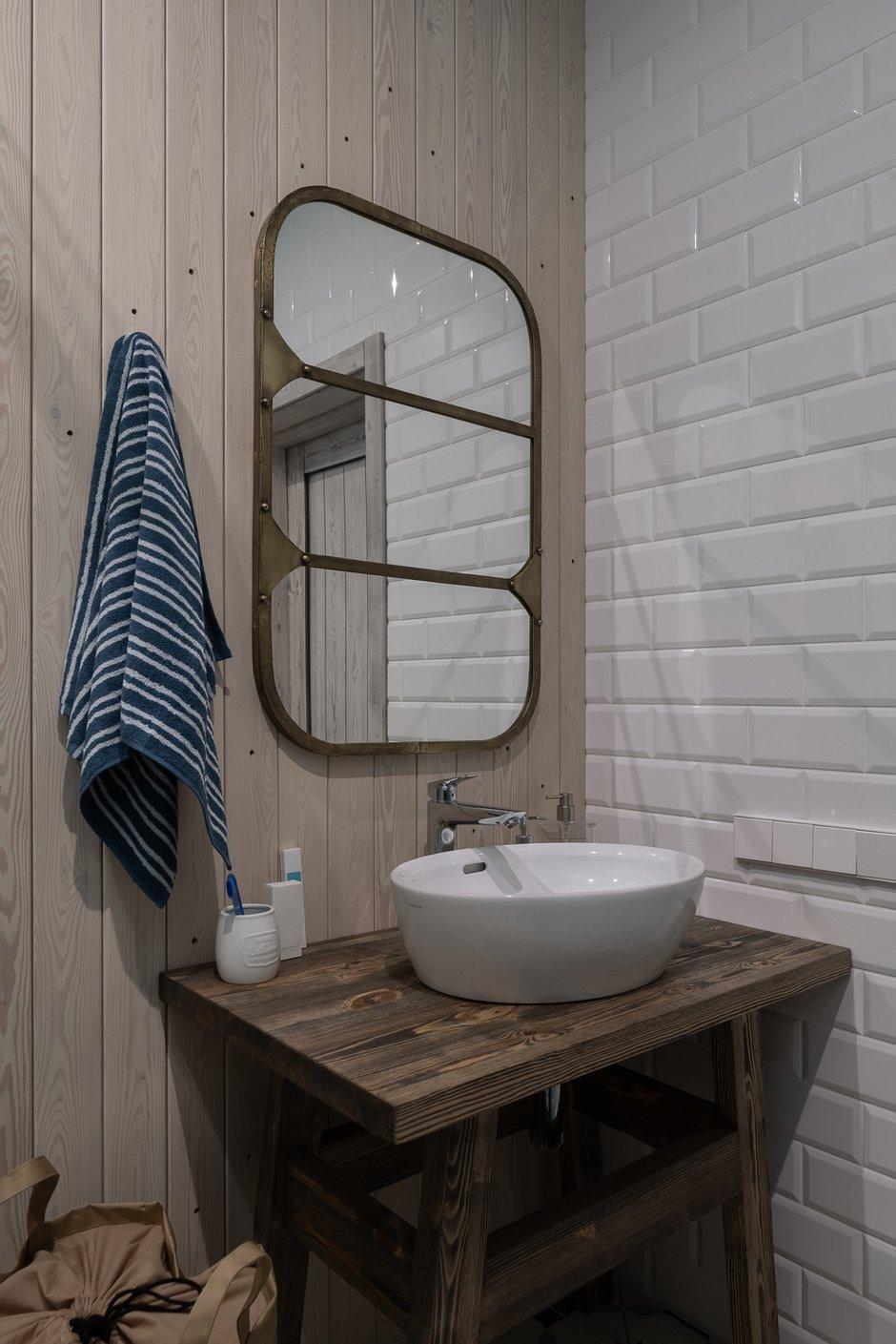 Фотография: Ванная в стиле Лофт, Квартира, Студия, Проект недели, Санкт-Петербург, 40-60 метров, VizDiz – фото на INMYROOM