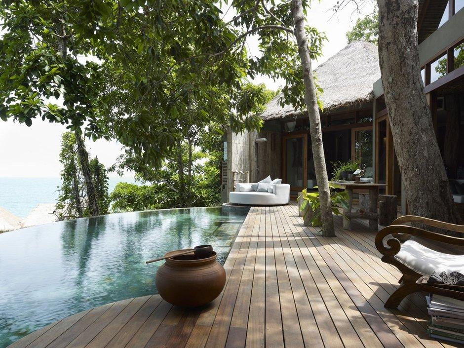 Фотография: Ландшафт в стиле Современный, Дом, Дома и квартиры, Отель – фото на INMYROOM