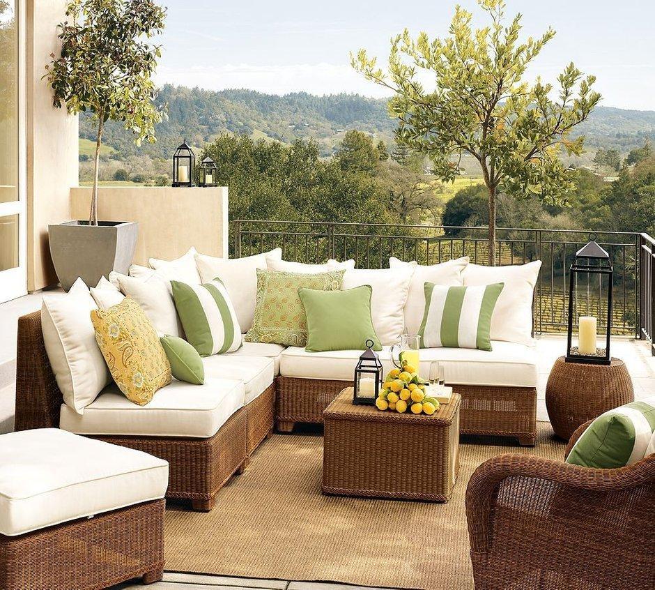 Фотография: Балкон, Терраса в стиле Современный, Декор интерьера, Мебель и свет – фото на INMYROOM