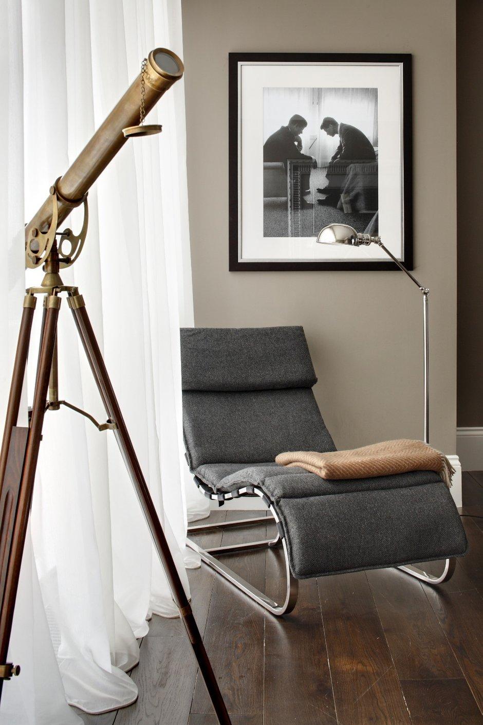 Фотография:  в стиле Современный, Квартира, Текстиль, Дома и квартиры – фото на INMYROOM