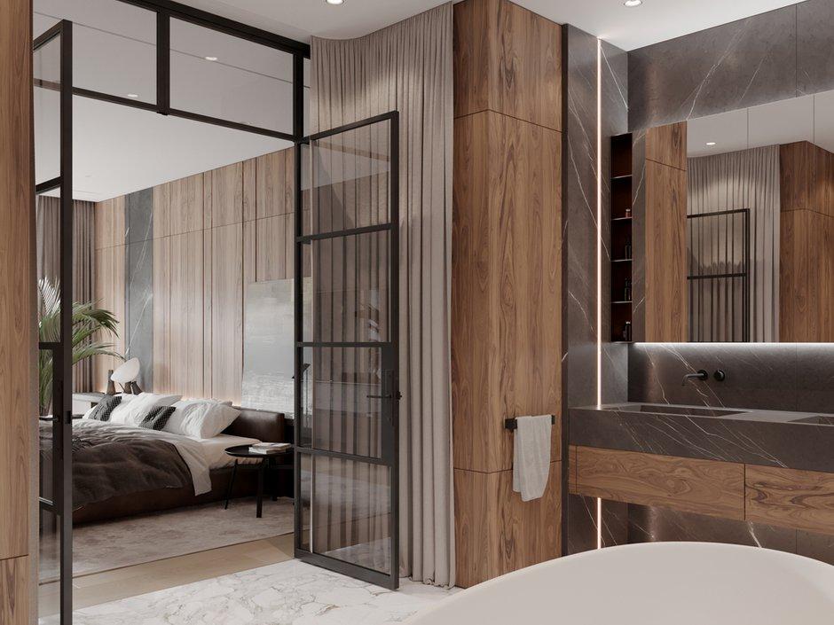 Фотография: Ванная в стиле Современный, Квартира, Проект недели, 4 и больше, Более 90 метров, Ab-architects, Level Barvikha – фото на INMYROOM