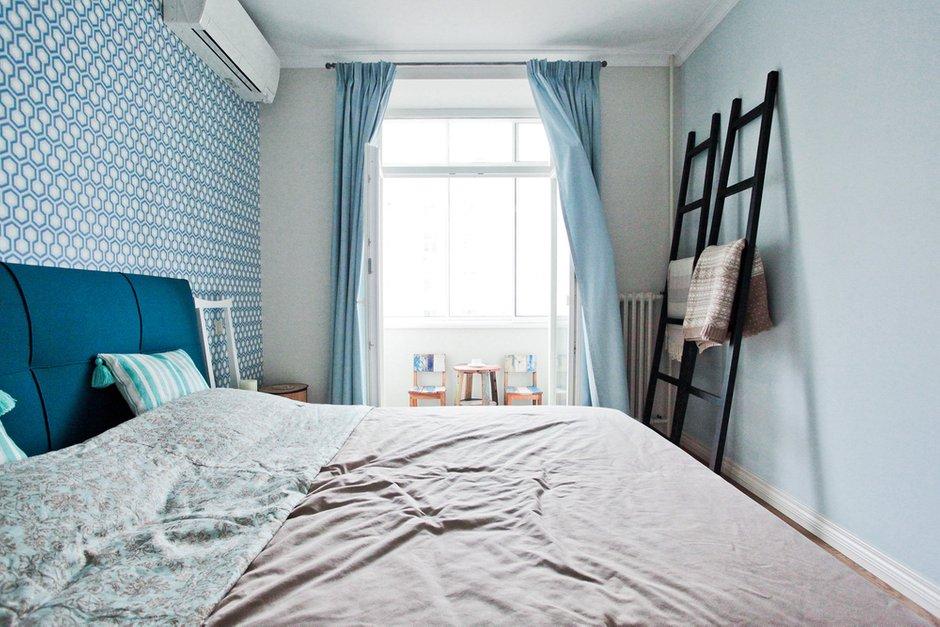 Фотография: Спальня в стиле Лофт, Скандинавский, Современный, Квартира, Проект недели – фото на INMYROOM