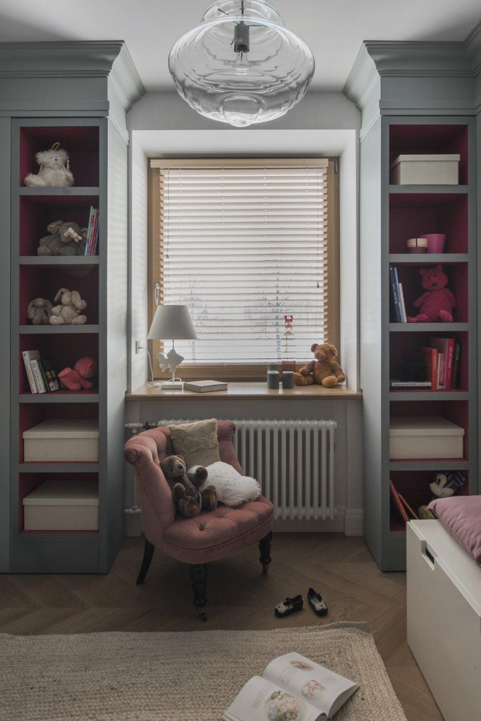 Фотография: Детская в стиле Современный, Квартира, Проект недели, Москва, Кирпичный дом, 3 комнаты, 40-60 метров, Маша Кунякина – фото на INMYROOM