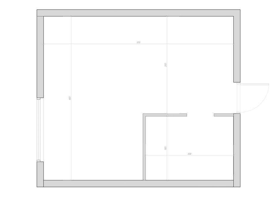 Фотография: Планировки в стиле , Современный, Квартира, Студия, Проект недели, Санкт-Петербург, до 40 метров, Монолитно-кирпичный, Владимир Березин, ЖК «Голландия» – фото на INMYROOM