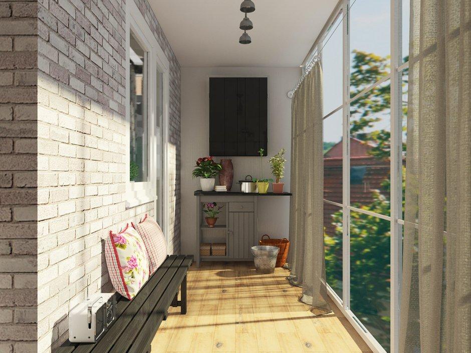 Фотография: Балкон, Терраса в стиле Лофт, Эклектика, Квартира, Дома и квартиры, IKEA, Проект недели – фото на INMYROOM