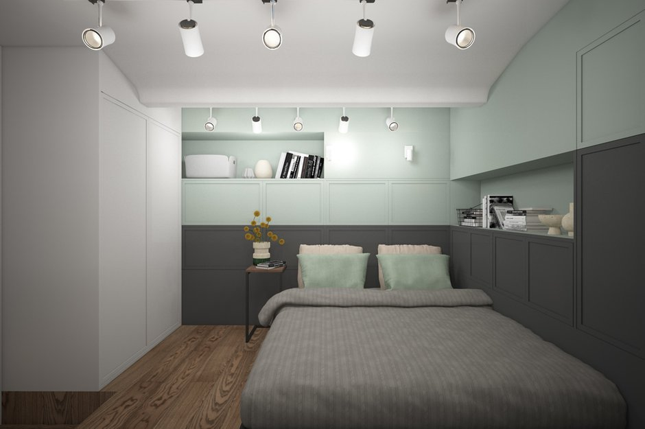 Фотография: Спальня в стиле Минимализм, Детская, Лофт, Скандинавский, Квартира, Проект недели, Москва – фото на INMYROOM