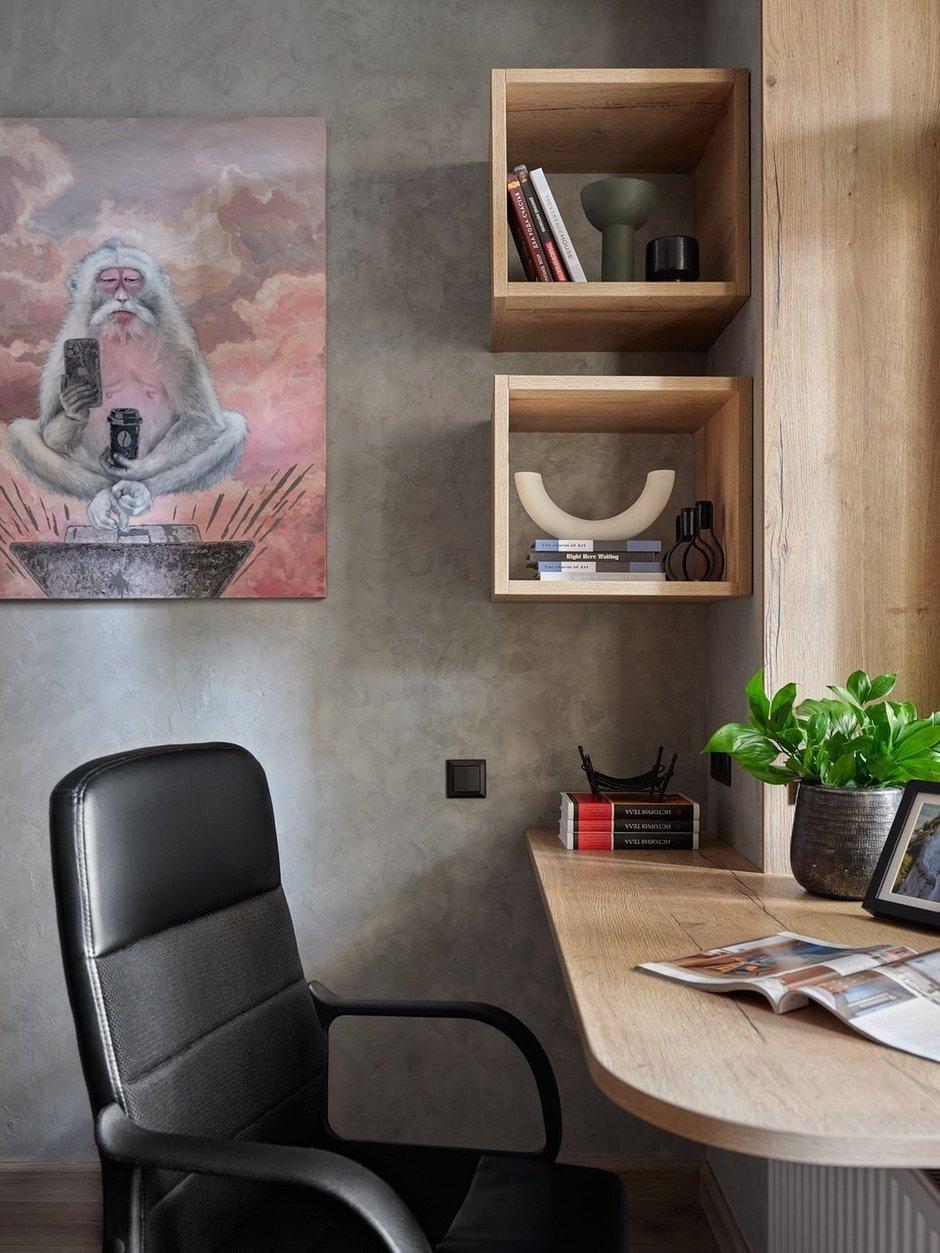 Фотография: Кабинет в стиле Современный, Лофт, Малогабаритная квартира, Квартира, Студия, Проект недели, Москва, до 40 метров, Дина Удальцова – фото на INMYROOM