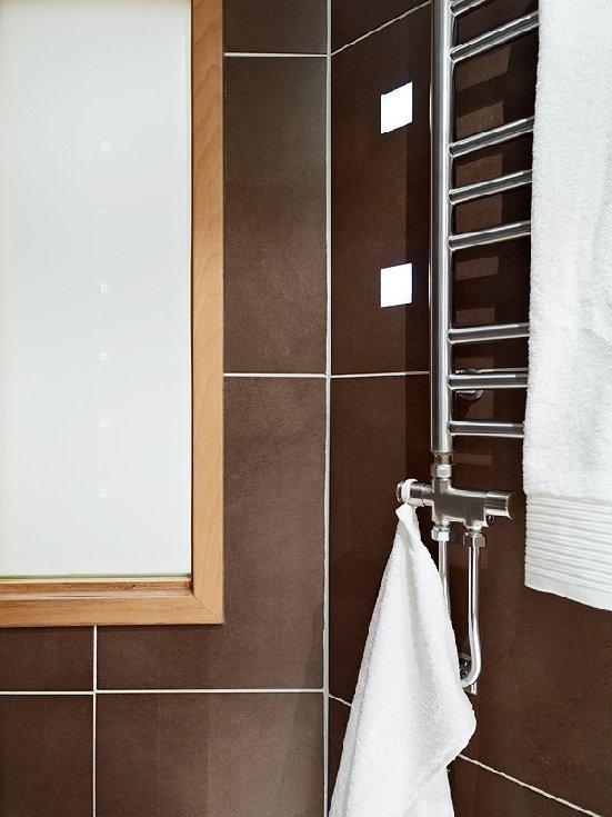 Фотография: Ванная в стиле Современный, Малогабаритная квартира, Квартира, Швеция, Дома и квартиры – фото на INMYROOM