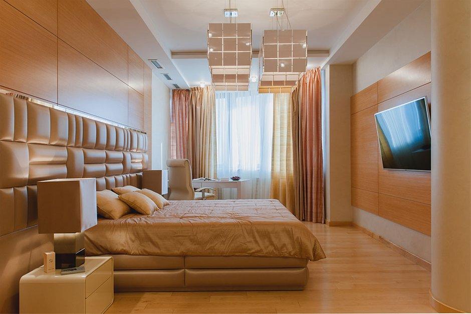 Фотография: Спальня в стиле Современный, Хай-тек, Квартира, Дома и квартиры, Москва – фото на INMYROOM