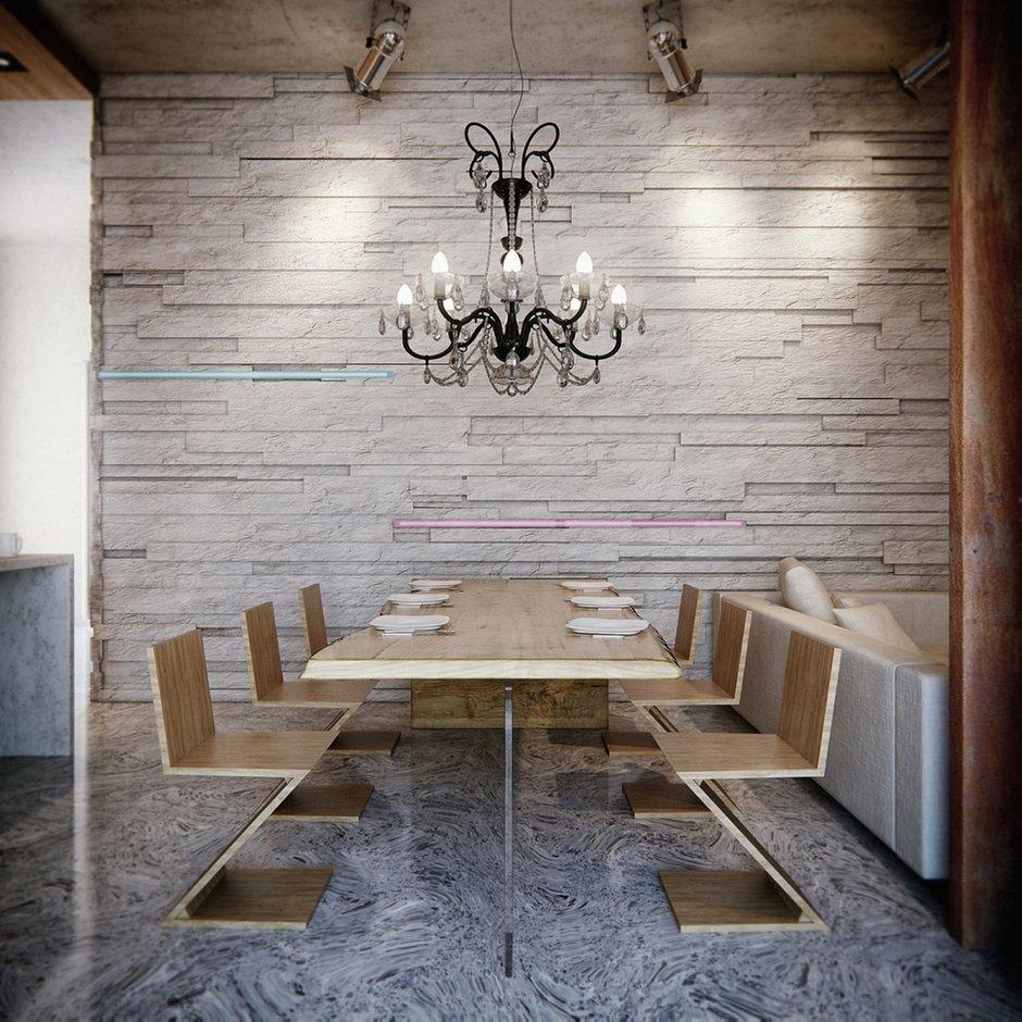 Фотография: Кухня и столовая в стиле Лофт, Эклектика, Декор интерьера, Мебель и свет, Советы – фото на INMYROOM