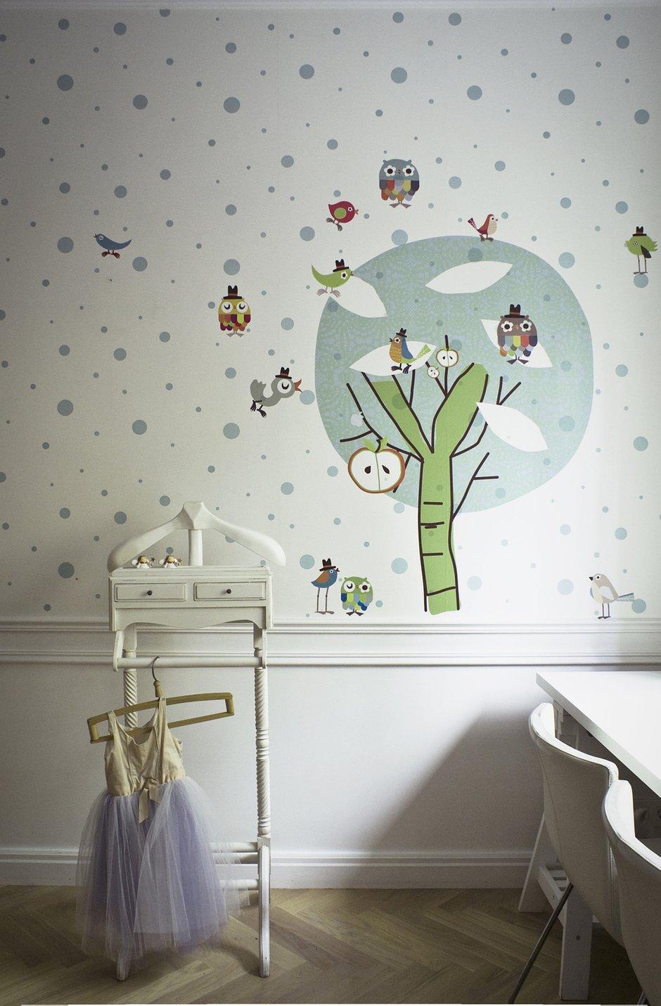 Фотография: Детская в стиле Эклектика, Современный, Квартира, Дома и квартиры, Проект недели – фото на INMYROOM