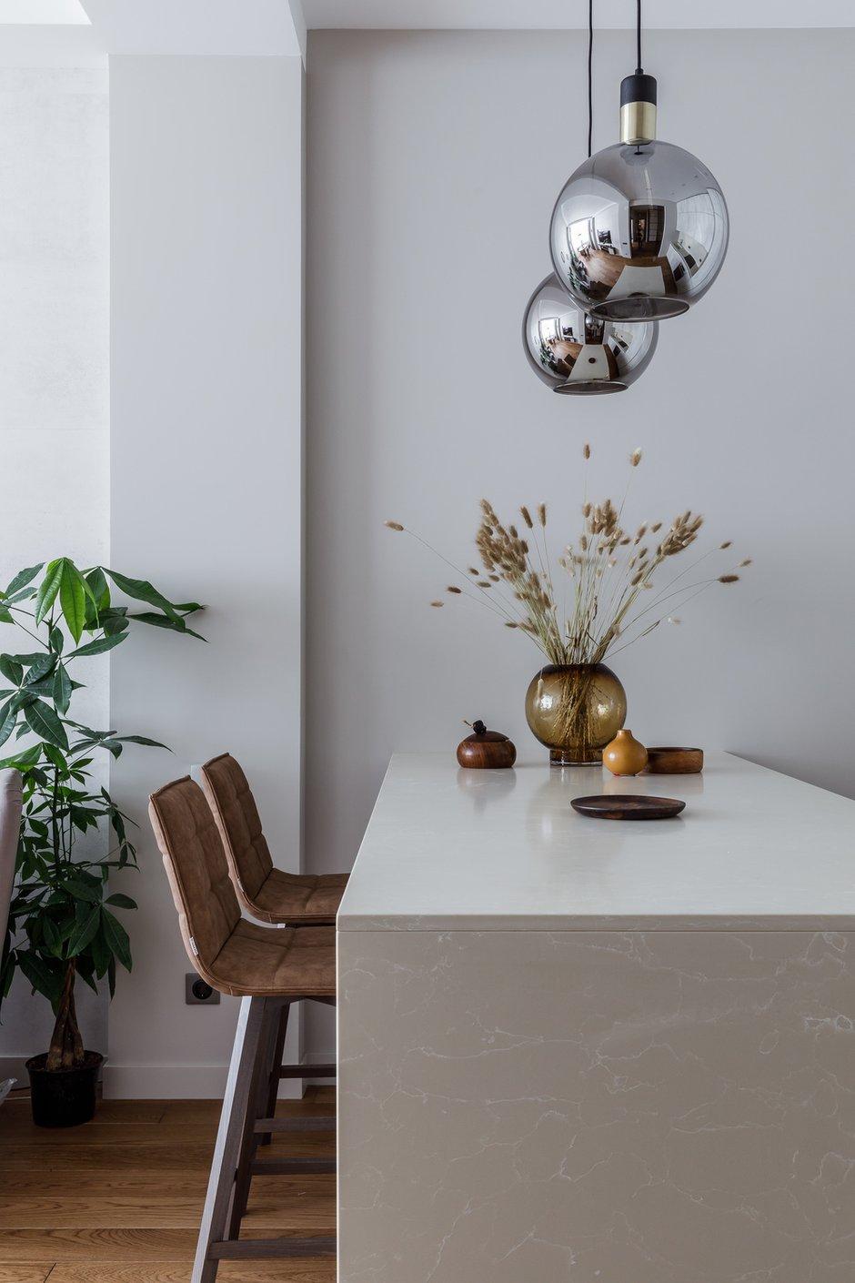 Фотография: Кухня и столовая в стиле Современный, Квартира, Проект недели, Москва, 3 комнаты, 60-90 метров, Мариям Тагиева – фото на INMYROOM