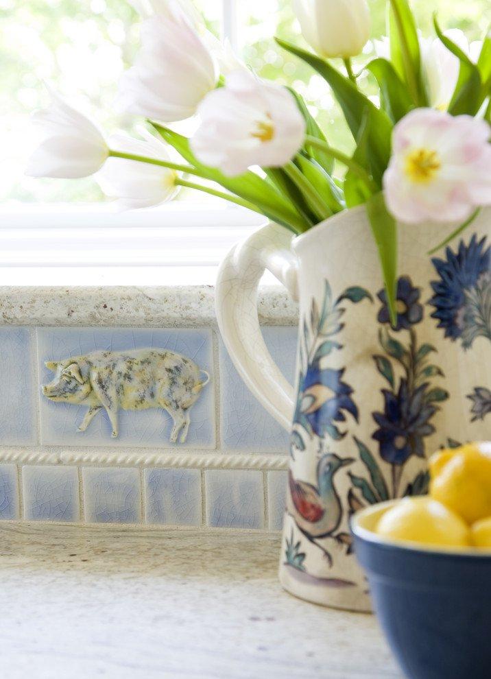 Фотография: Декор в стиле Прованс и Кантри, Кухня и столовая, Интерьер комнат – фото на INMYROOM