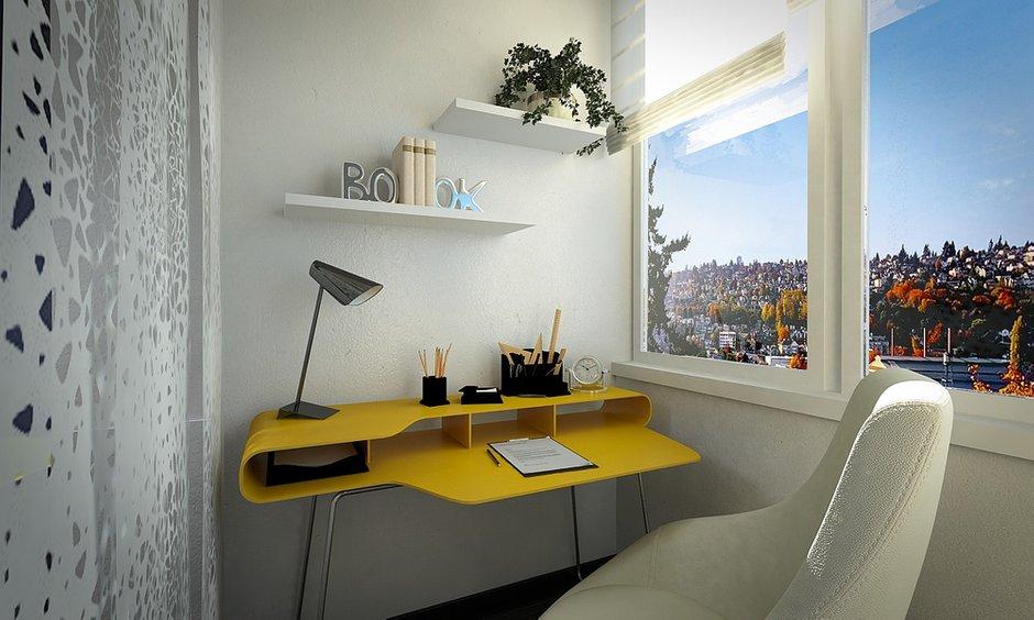 Фотография: Балкон, Терраса в стиле Современный, Квартира, BoConcept, Дома и квартиры, IKEA, Москва, Dulux – фото на INMYROOM
