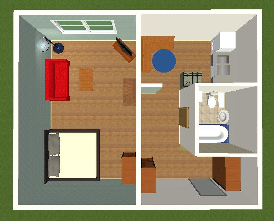 Фотография:  в стиле , Скандинавский, Квартира, IKEA, Проект недели, Москва, Dulux, Анна Ковальченко, 1 комната, до 40 метров – фото на InMyRoom.ru