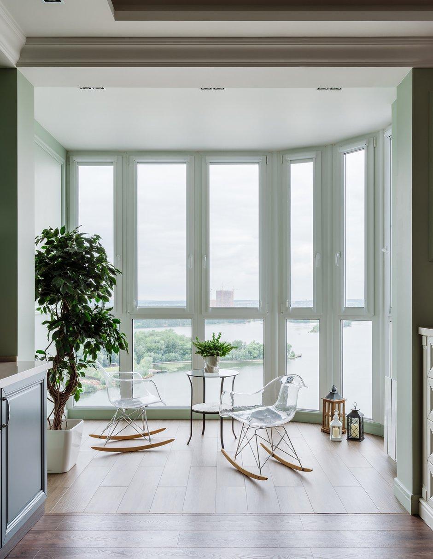 Фотография: Балкон в стиле Классический, Современный, Квартира, Проект недели, Красногорск, Монолитный дом, 2 комнаты, 60-90 метров, Лина Савина – фото на INMYROOM