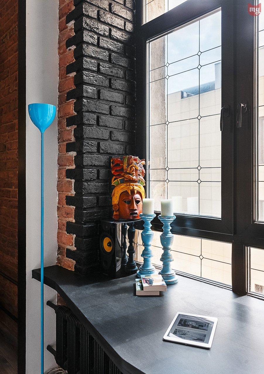 Фотография: Декор в стиле Лофт, Эклектика, Квартира, Проект недели, Москва, Герой InMyRoom, Ксения Стрекоза – фото на INMYROOM