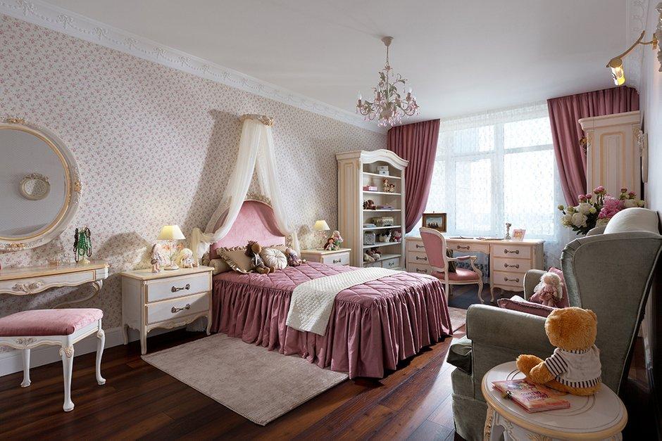 Фотография: Спальня в стиле Прованс и Кантри, Классический, Квартира, Дома и квартиры, Пентхаус – фото на INMYROOM