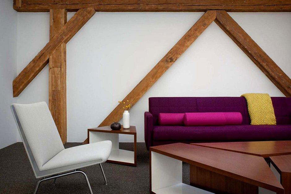Фотография: Гостиная в стиле Современный, Офисное пространство, Офис, Дома и квартиры, Проект недели – фото на INMYROOM