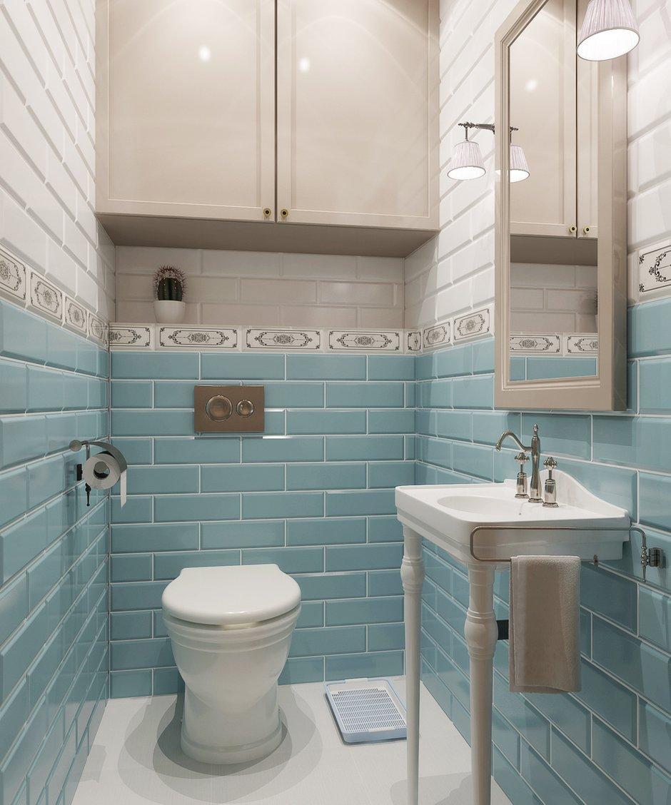 Фотография: Ванная в стиле Прованс и Кантри, Квартира, Дома и квартиры, Проект недели – фото на INMYROOM