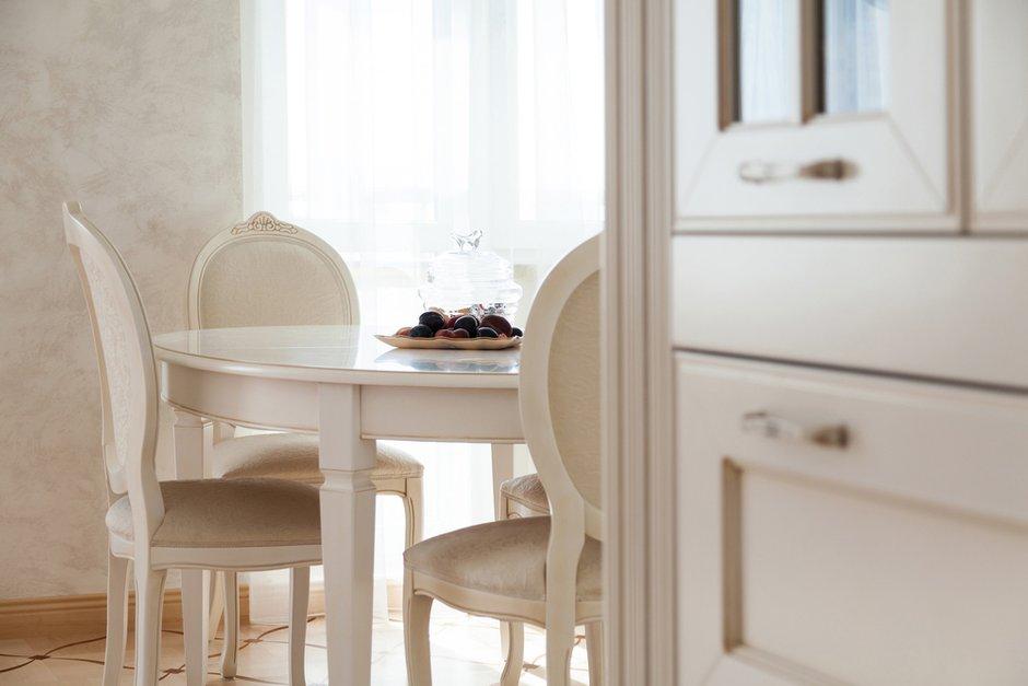 Фотография: Кухня и столовая в стиле Классический, Квартира, Дома и квартиры, Проект недели, Москва – фото на INMYROOM