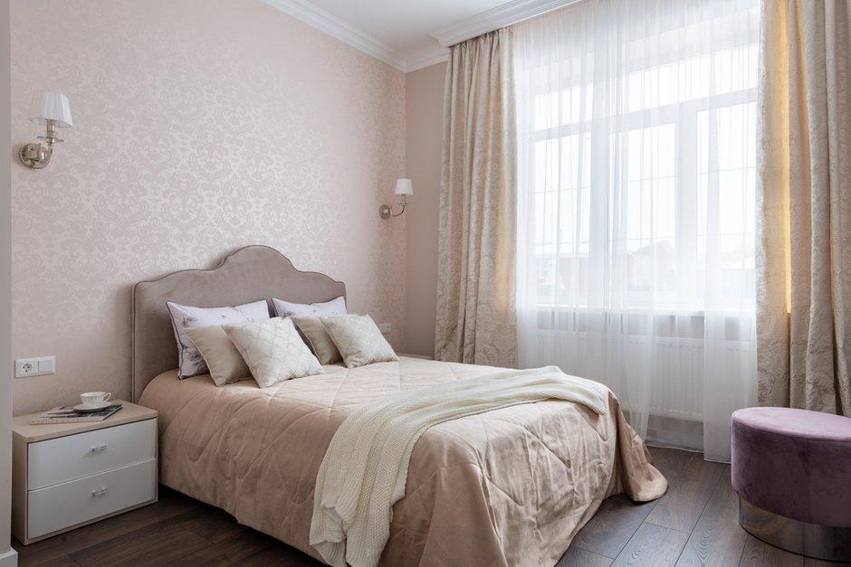 Фотография: Спальня в стиле Современный, Кухня и столовая, Гостиная, Дом, Проект недели, Бежевый, ПРЕМИЯ INMYROOM – фото на INMYROOM