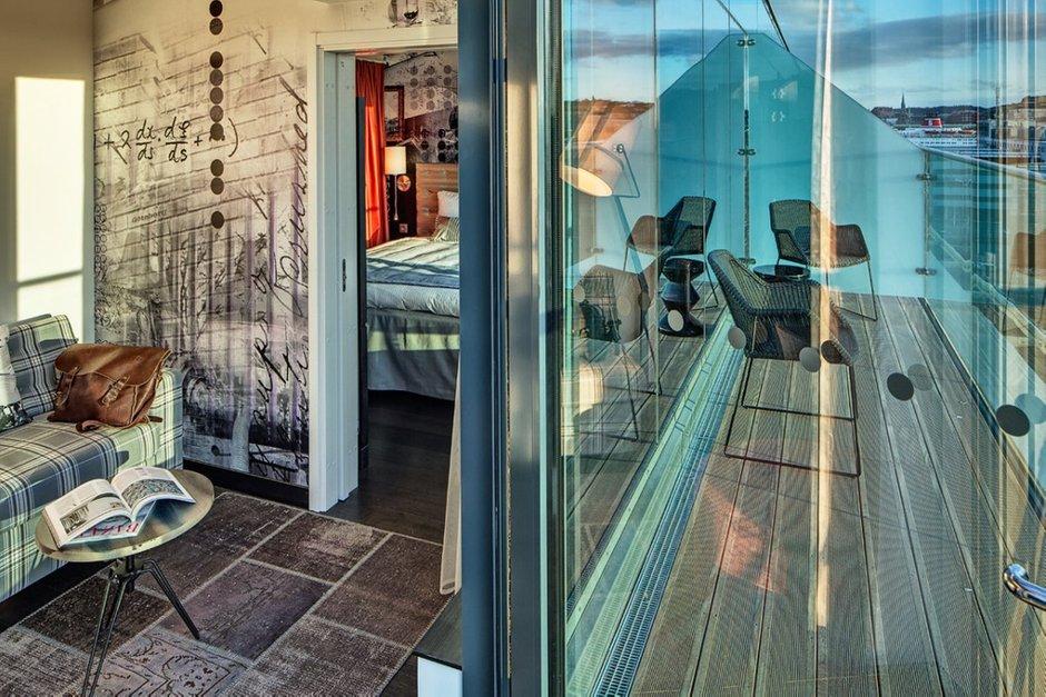 Фотография: Балкон, Терраса в стиле Современный, Декор интерьера, Дома и квартиры, Городские места, Отель, Проект недели – фото на INMYROOM