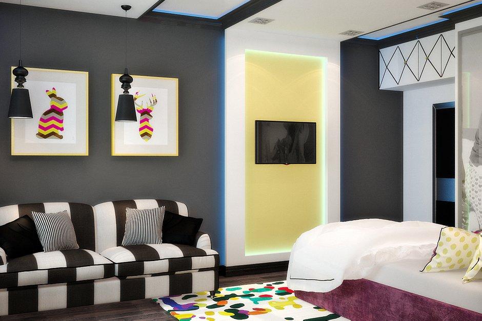 Фотография: Детская в стиле Современный, Эклектика, Квартира, Дома и квартиры, Проект недели, Москва – фото на INMYROOM