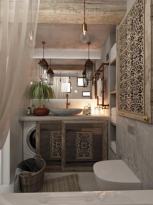 Фотография: Ванная в стиле Восточный, Декор интерьера, Советы – фото на InMyRoom.ru