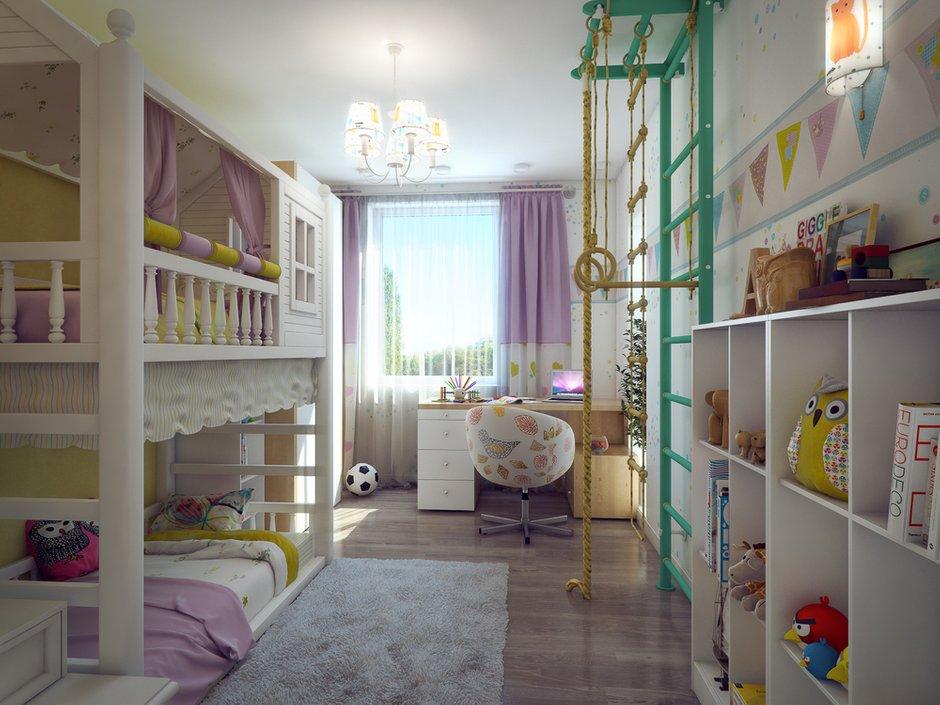 Фотография: Детская в стиле Современный, Квартира, Дома и квартиры, IKEA, Проект недели – фото на INMYROOM