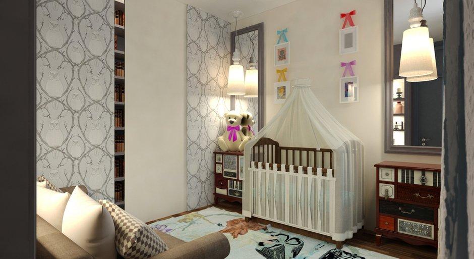 Фотография: Детская в стиле , Квартира, Дома и квартиры, Проект недели, Переделка – фото на InMyRoom.ru