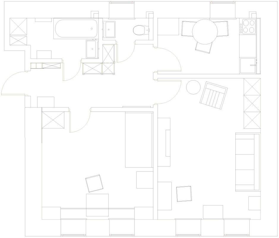 Фотография: Планировки в стиле , Декор интерьера, Мебель и свет, Проект недели, Лена Ленских – фото на INMYROOM