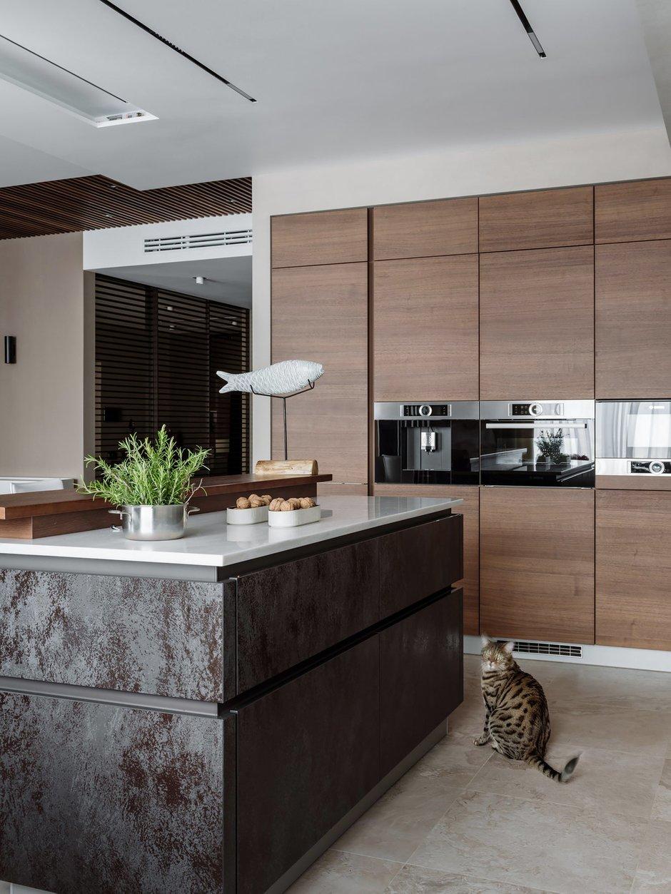 Фотография: Кухня и столовая в стиле Современный, Квартира, Проект недели, Москва, 4 и больше, Более 90 метров, Нина Шуберт – фото на INMYROOM