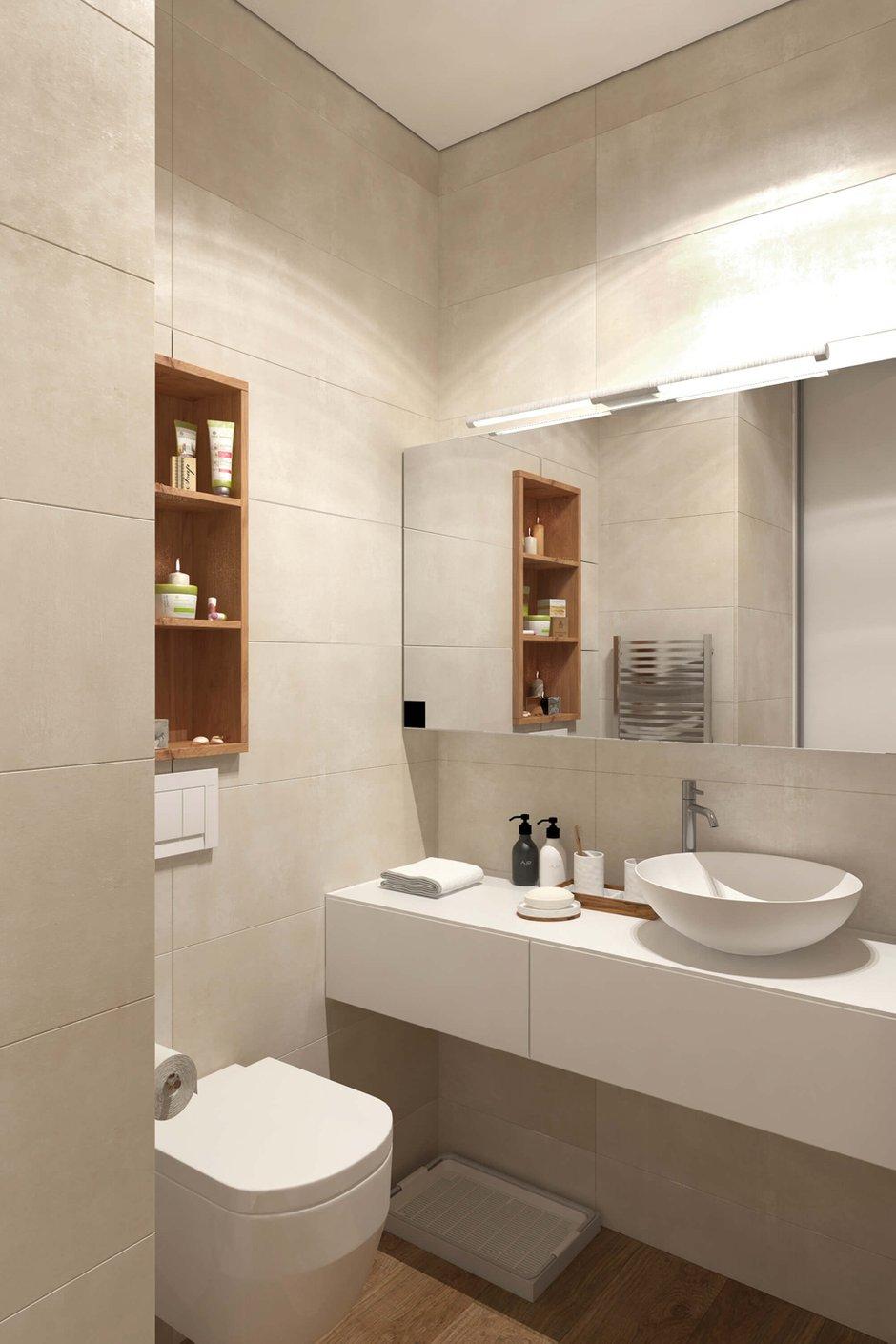Фотография: Ванная в стиле Современный, Квартира, Проект недели, Geometrium – фото на InMyRoom.ru